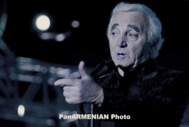 Legendary chansonnier Charles Aznavour celebrating 89th birthday