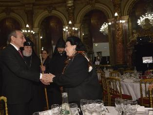 Montserrat Caballe's album devoted to Armenia and Karabakh is presented in Paris
