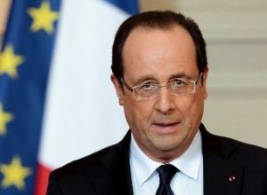 Francois Hollande delivers speech at Armenian Genocide Memorial