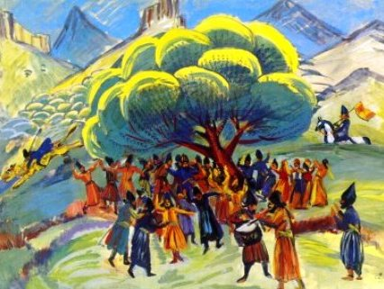 Today is Navasard, ancient Armenian New Year