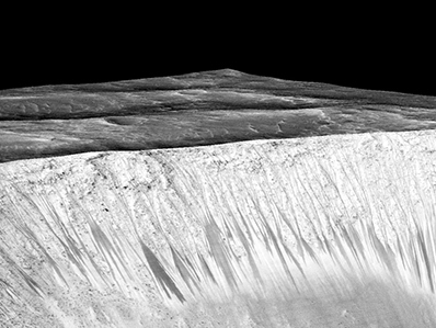 Crater on Mars where water was detected named after Armenia's Garni