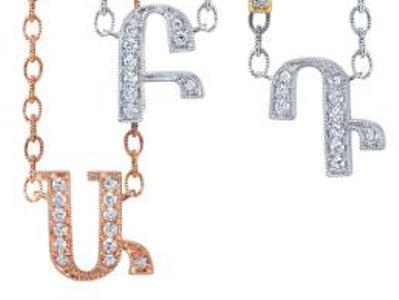 American jeweler presents jewelry collection with Armenian alphabet letters