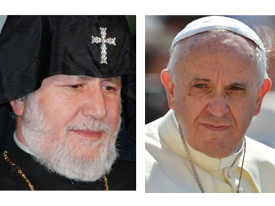 La Croix: 50-60,000 people to welcome Pope Francis and Karekin II in Armenia