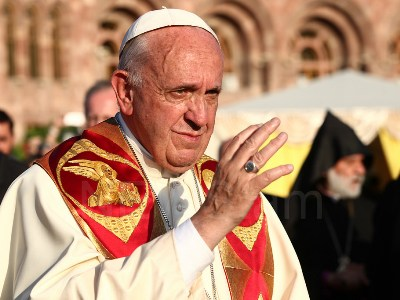 Pope Francis: I am happy to have visited Armenia