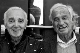 Aznavour celebrated friendship with Jean-Paul Belmondo before death